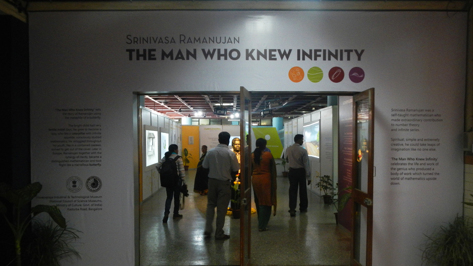 DIgital Jalebi Man who knew Infinity