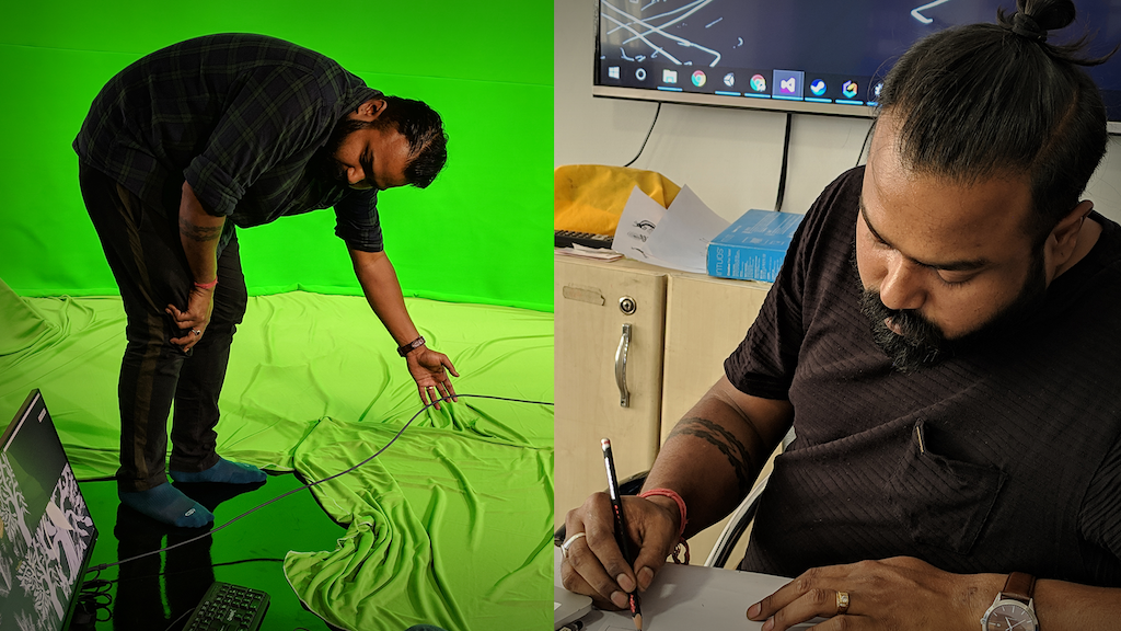 The Warli Art Mixed Reality Movie - BBC India by