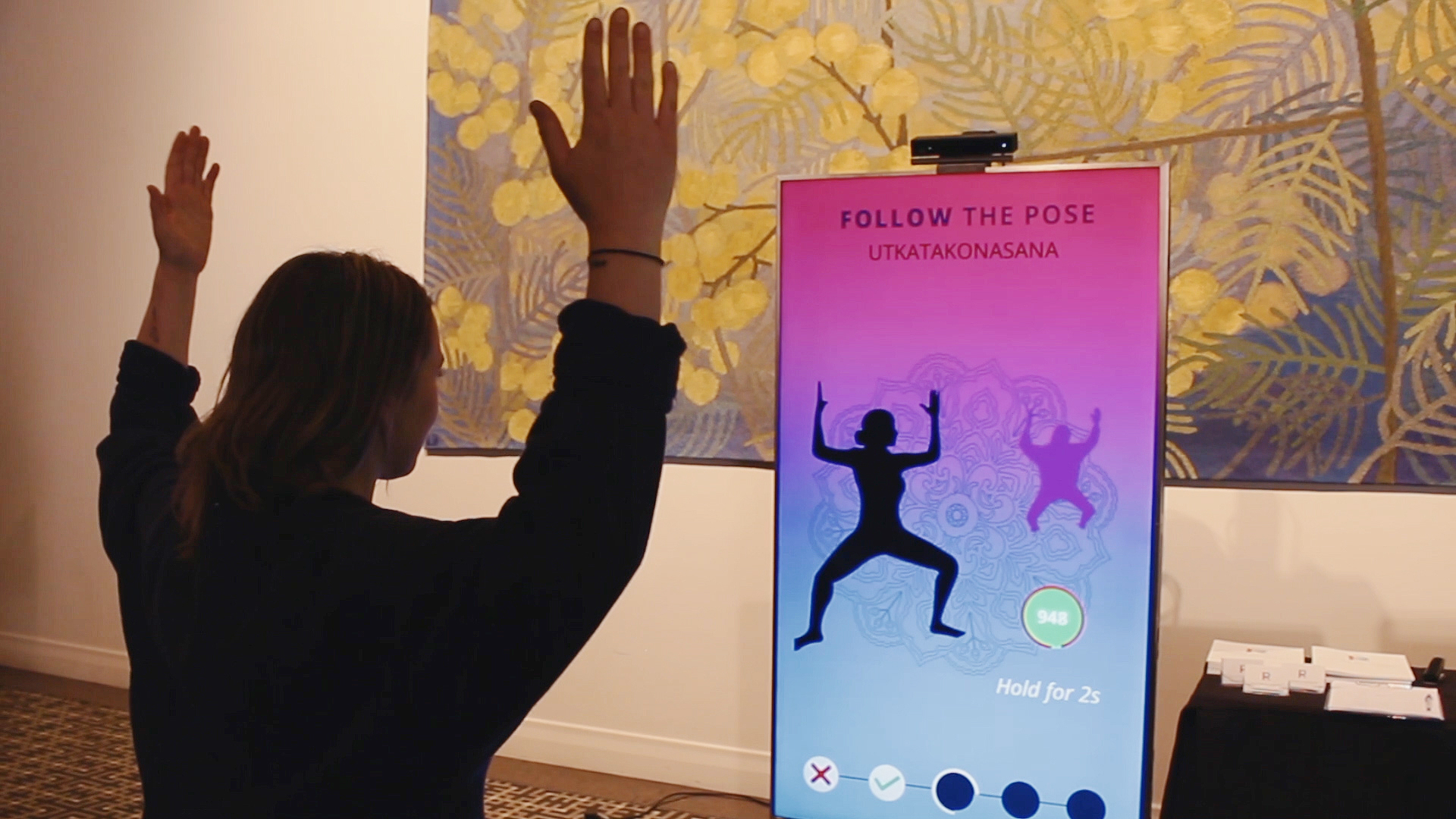 Yoga - An Interactive Gamified Experience - Digital Jalebi