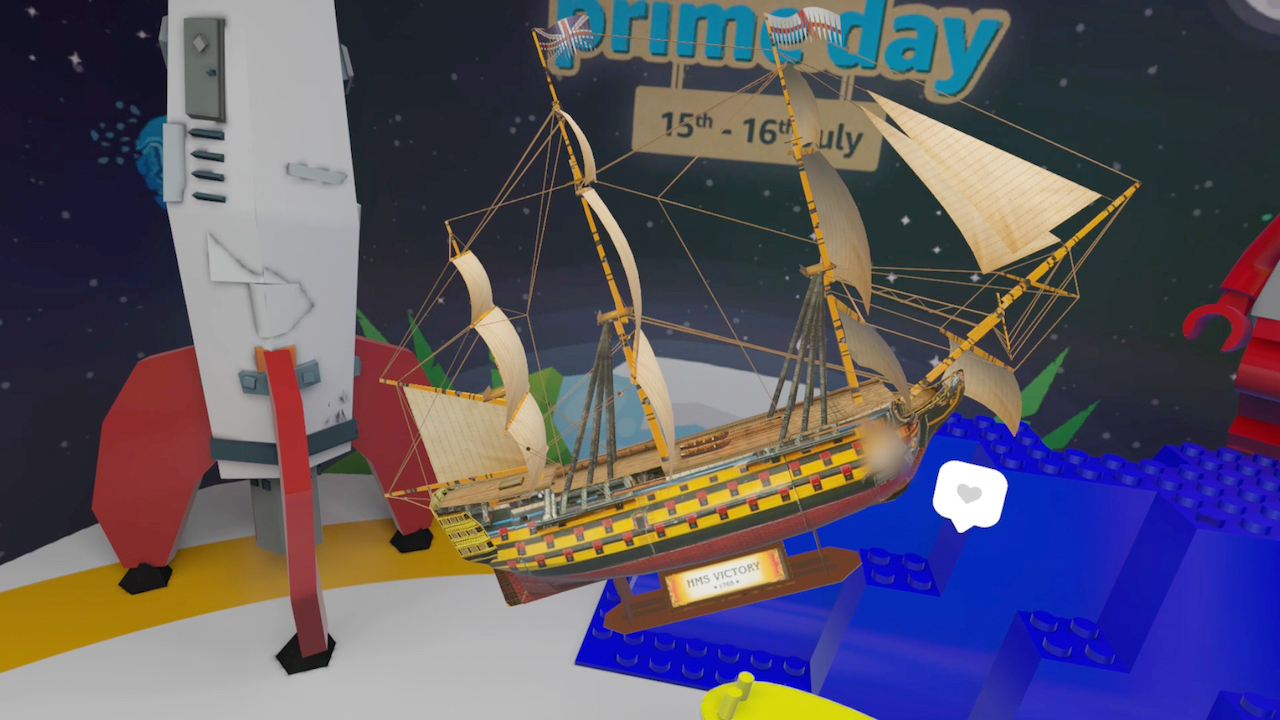 Amazon Prime Day 2019 - Shopping in VR